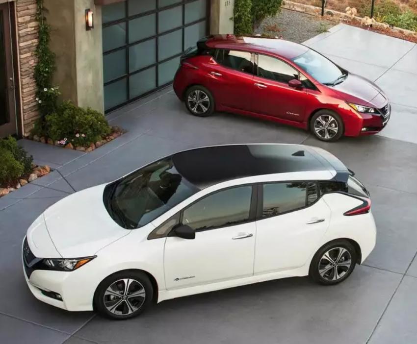 Обзор Nissan Leaf - хороший выбор для жителя пригорода