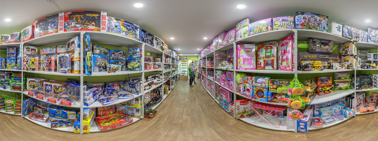 Ассортимент китайских игрушек