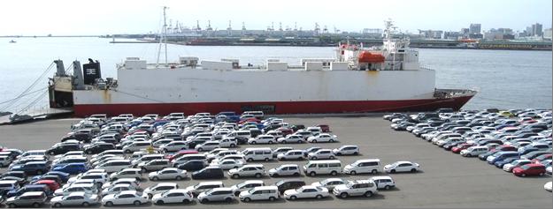 Доставка японского автомобиля с пробегом