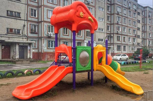 Импорт Китайских детских площадок и игрового оборудования