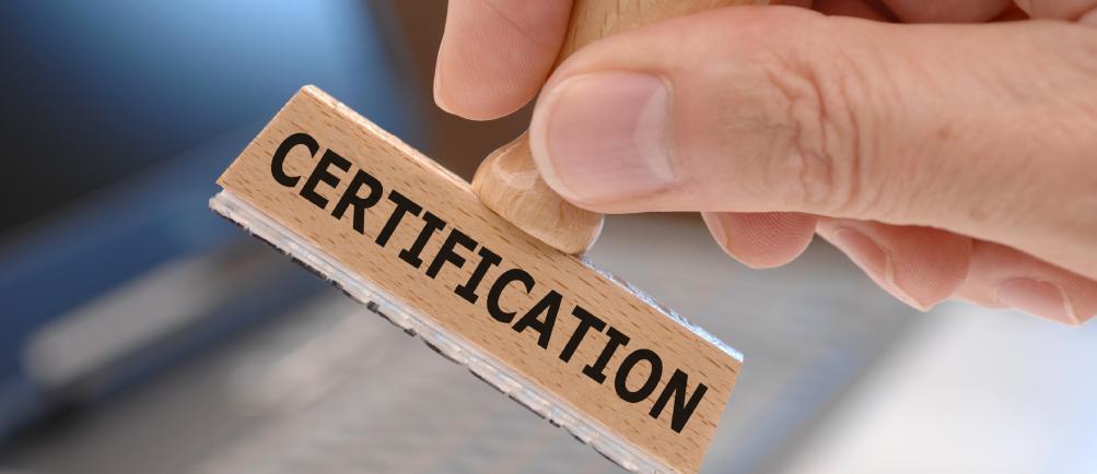 Certification of South Korean goods